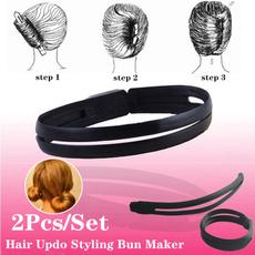 donutbunclip, hair twister, hairholder, hairupdo