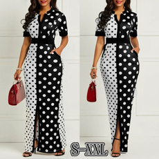 Summer, Plus Size, Sleeve, long dress