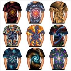 Summer, Short Sleeve T-Shirt, Shirt, 3dprintedtshirt