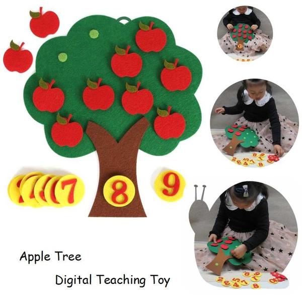 appletree, Educational, Toy, Apple