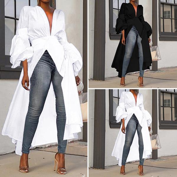 blouse, shirtsforwomen, Plus Size, longtop