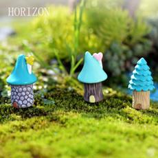 Blues, Mini, Decor, Garden