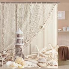 Polyester, Bathroom Accessories, starfish, custommade