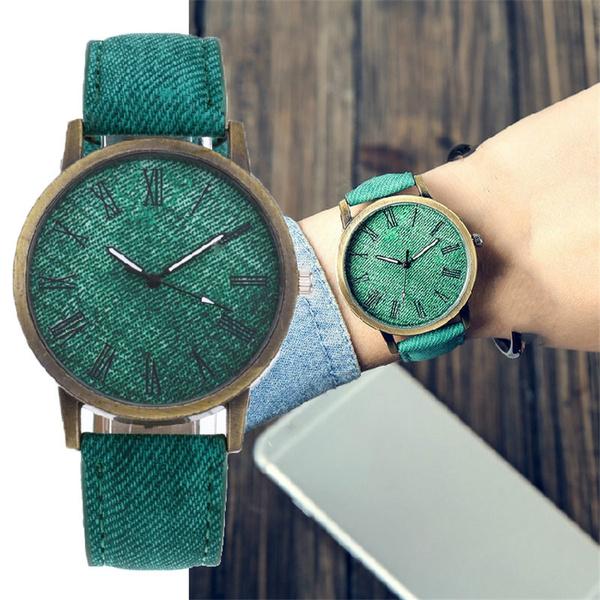 quartz, montrefemme, quartz watch, Denim