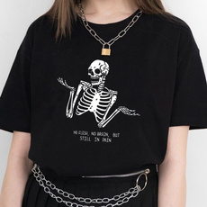 Funny, Funny T Shirt, printed, Skeleton