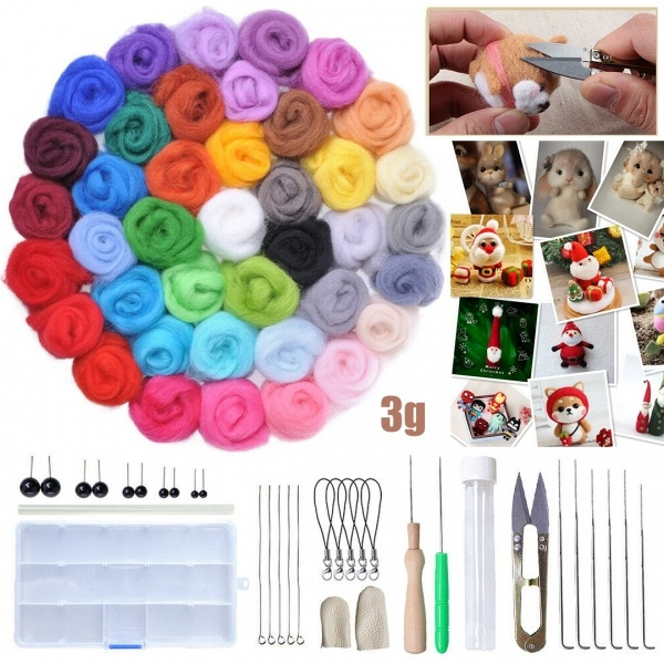 multicolorfabric, Knitting, feltingwool, woolfabric