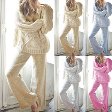 Two-Piece Suits, Winter, Bottom, sweatersuit