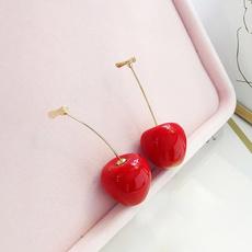 cute, Dangle Earring, Jewelry, Cherry
