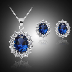 White Gold, oceanheartjewelryset, gold, oceanbluejewerly