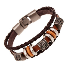 brown, Genuine, Jewelry, leather
