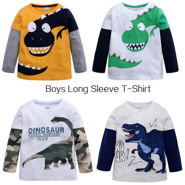 Fashion, Shirt, Sleeve, Dinosaur