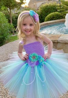girls dress, Flowers, Cosplay, mermaidclothe