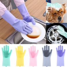 dishwashingglove, dishwashing, siliconeglove, Cleaning Supplies