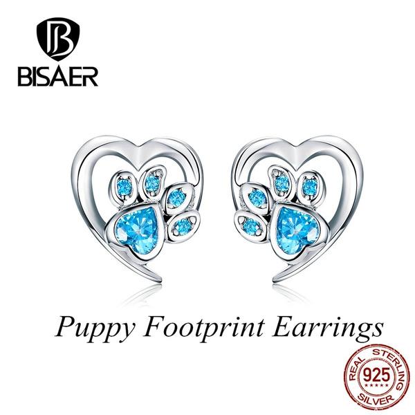Sterling, Heart, Fashion, wedding earrings