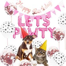 dog accessories, partysuppliesfordogcat, petbirthdaybanner, dogbirthdayparty