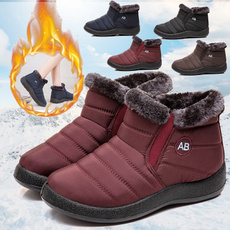 ankle boots, Slip-On, Winter, Womens Shoes