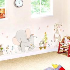 livingroomdecal, Home Decor, Home & Living, cartoonwallsticker