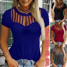 Summer, Blouses & Shirts, Women Blouse, summer t-shirts