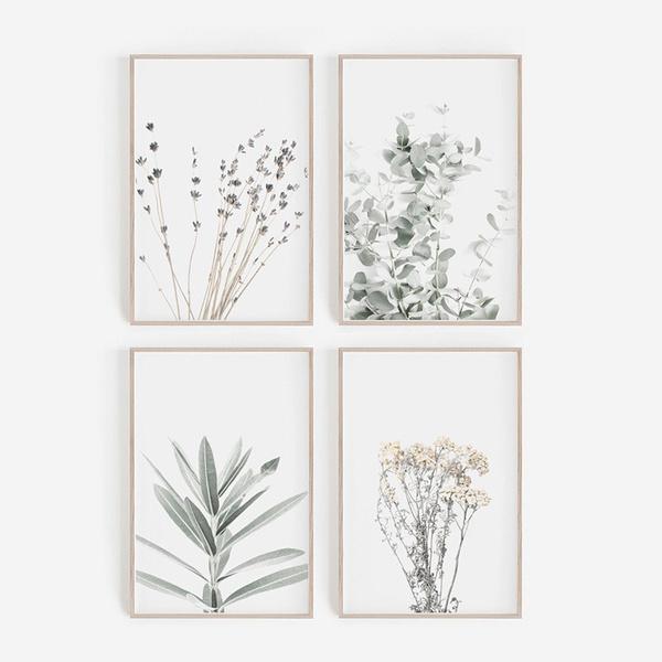 botanicalart, farmhouse, lavenderwallpicture, botanicalwallart