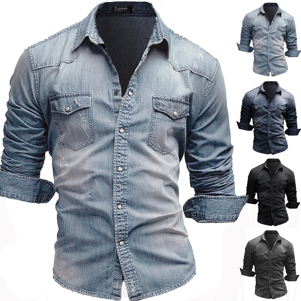 men's jeans, Fashion, Winter, Sleeve