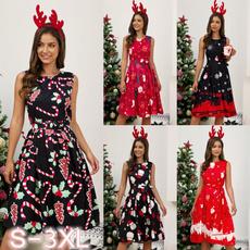 Swing dress, Plus Size, Christmas, christmasdre