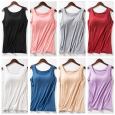 womentshirtblouse, Vest, Fashion, solidcolortshirt