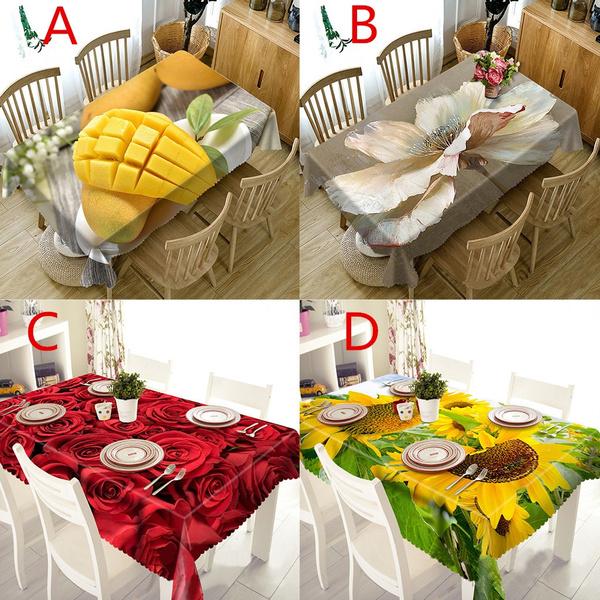 tableflag, fruitpattern, Home Decor, Cloth