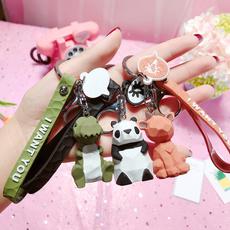 cute, Chain, Silicone, keychainpendant