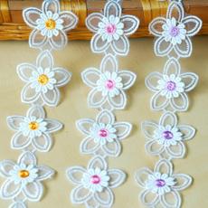 Trim, Decor, Flowers, Lace
