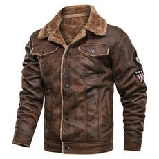 Cotton, Casual Jackets, Fleece, Fashion
