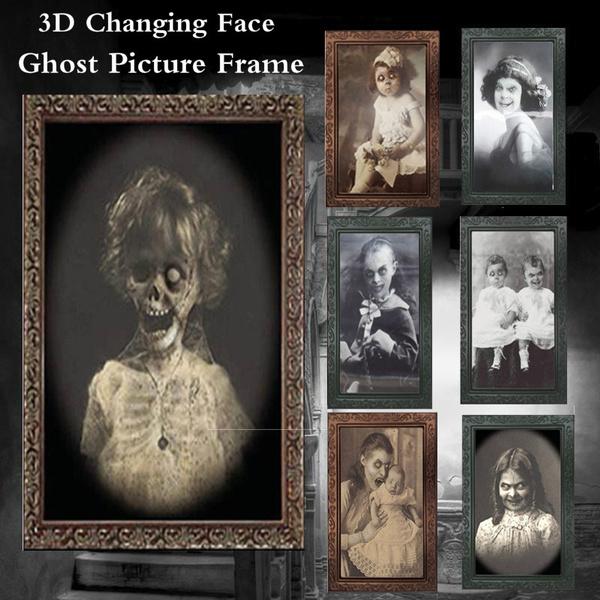 ghost, decoration, Decor, ghostpictureframe