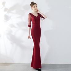 Beading, Cocktail Party Dress, Dress, Evening Dresses