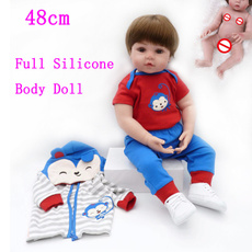 Toddler, doll, Silicone, Handmade