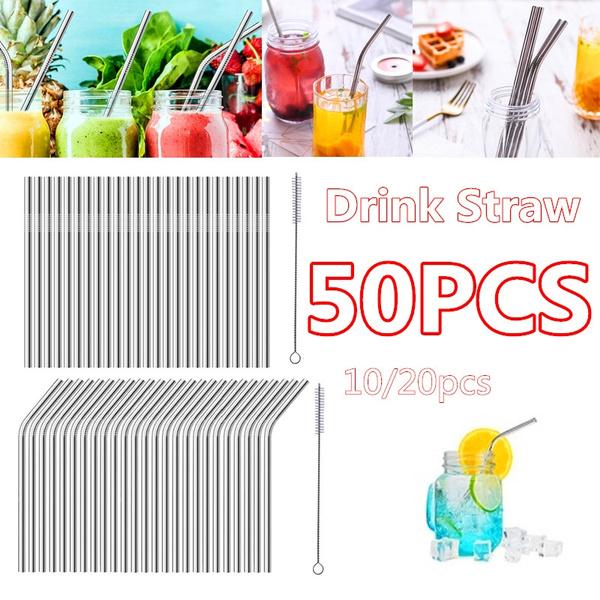 Steel, drinkingstraw, juicestraw, straw