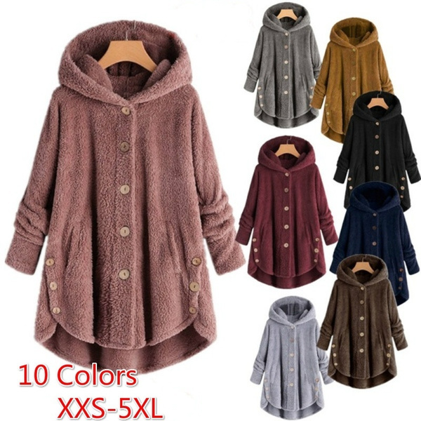 fashion women, Plus Size, fur, winter clothes.