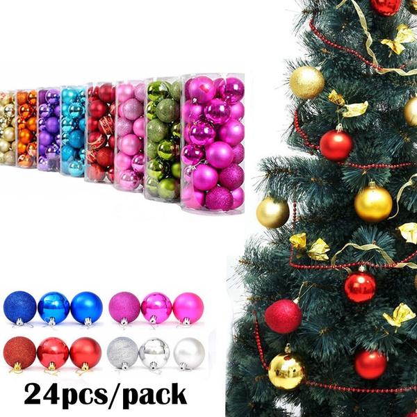christmasdecorationsbauble, Decor, pineconesballsdecor, christmastreedecorball