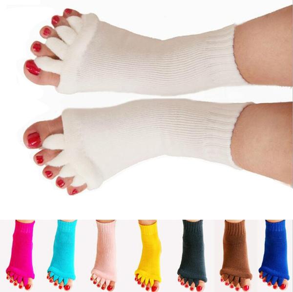 yogasock, Beauty, toeseparatorsock, footalignmentsock