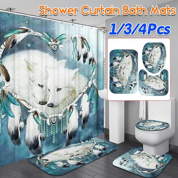 Shower, Decor, toiletshowercurtain, Dreamcatcher