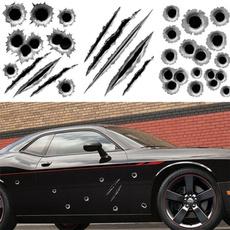 Funny, Bullet, bulletholesticker, Car Sticker