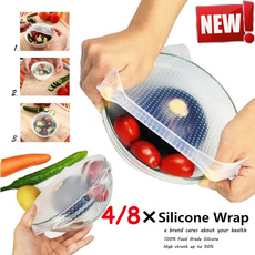 siliconepreservativefilm, Kitchen & Dining, Cooking, foodfreshcover