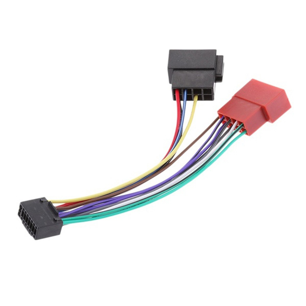 [SCHEMATICS_4CA]  Car Stereo Radio Plug ISO Wiring Harness Adapter Connector 16 Pin for  KENWOOD | Wish | Information About Car Radio Iso Wiring Harness Adapters |  | Wish