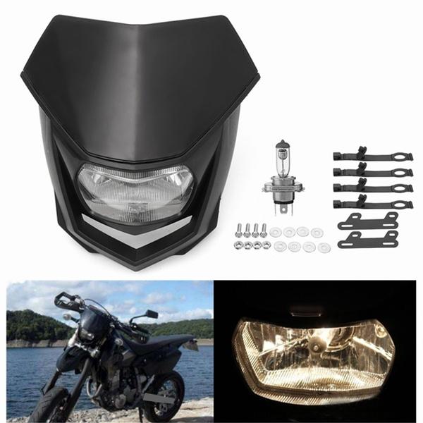 12V 35W Motocross Enduro Dirt Bike Headlight For Yamaha