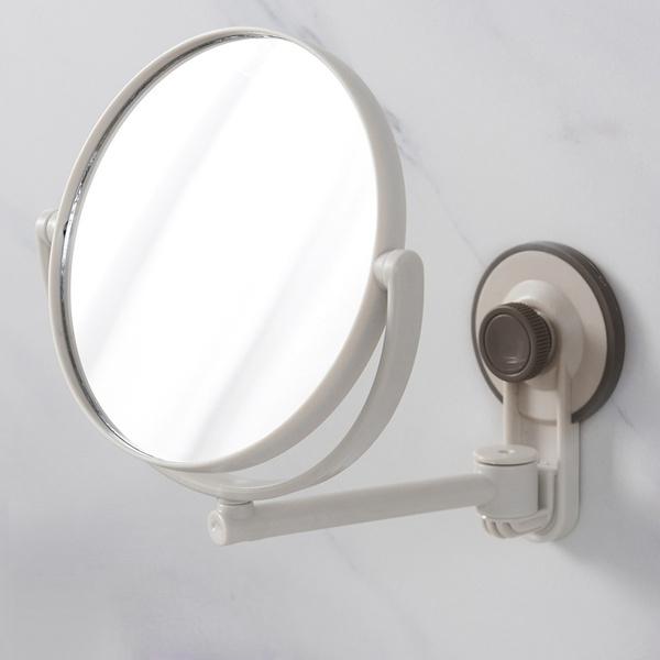 Bath Mirror Cosmetic Mirror 1x 3x Magnification Suction Cup Adjustable Makeup Mirror Double Sided Bathroom Mirror Wish
