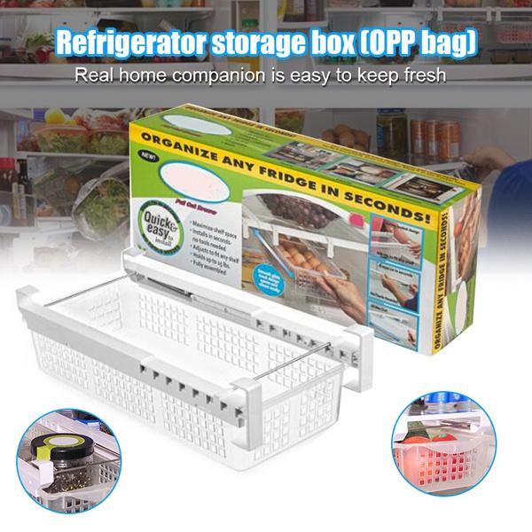 Adjustable, pulloutbin, Refrigerator, Durable