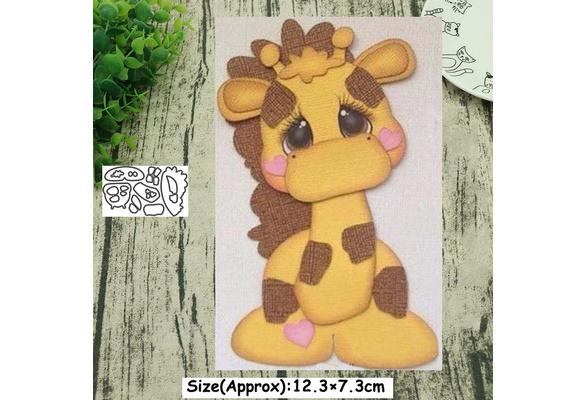 Metal Cutting Dies Animals DIY Scrapbooking Album Paper Crafts Card Embossi I6Z2