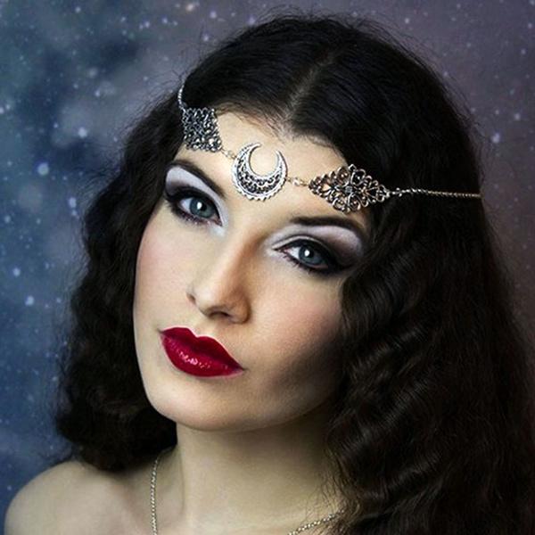 shootingprop, Head, hair jewelry, pagansmoonjewelry