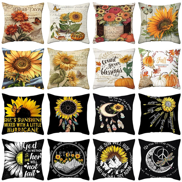 cardecor, Polyester, Home Decor, Sunflowers