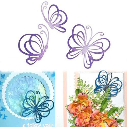 butterfly, Butterflies, cuttingdiesstencil, Metal
