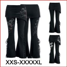 Women Pants, Goth, Fashion, Lace