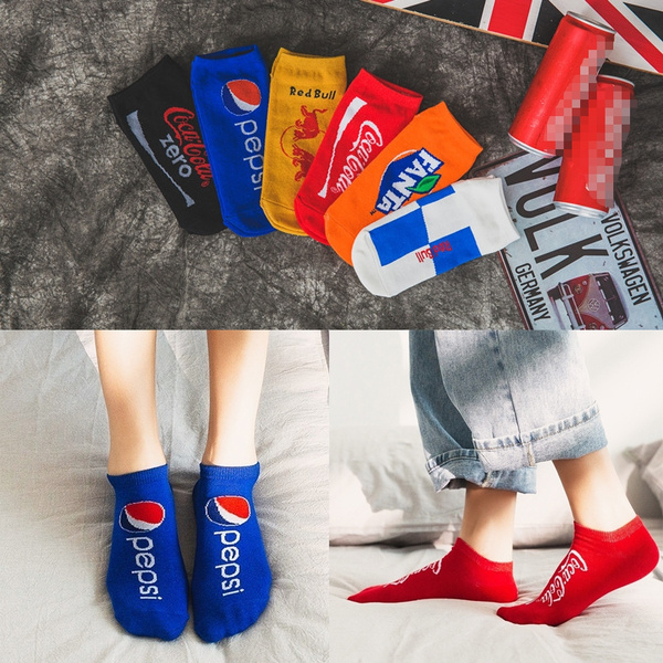 Funny, boatsock, Cotton Socks, Colorful